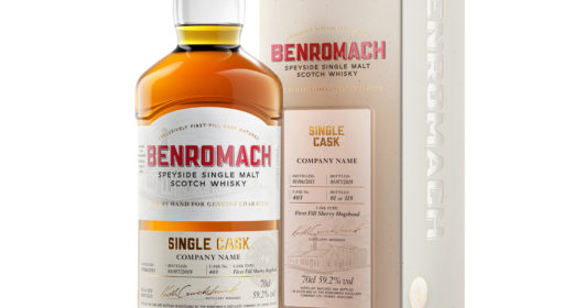 Benromach Single Cask Bottle & Box