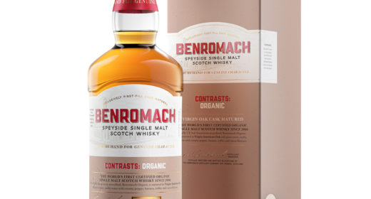 Benromach Organic Boxed (Clear Background)